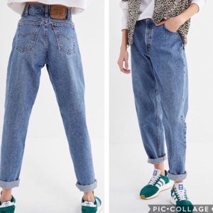 Levi's Vintage High Waisted 550 Relaxed Mom Jeans